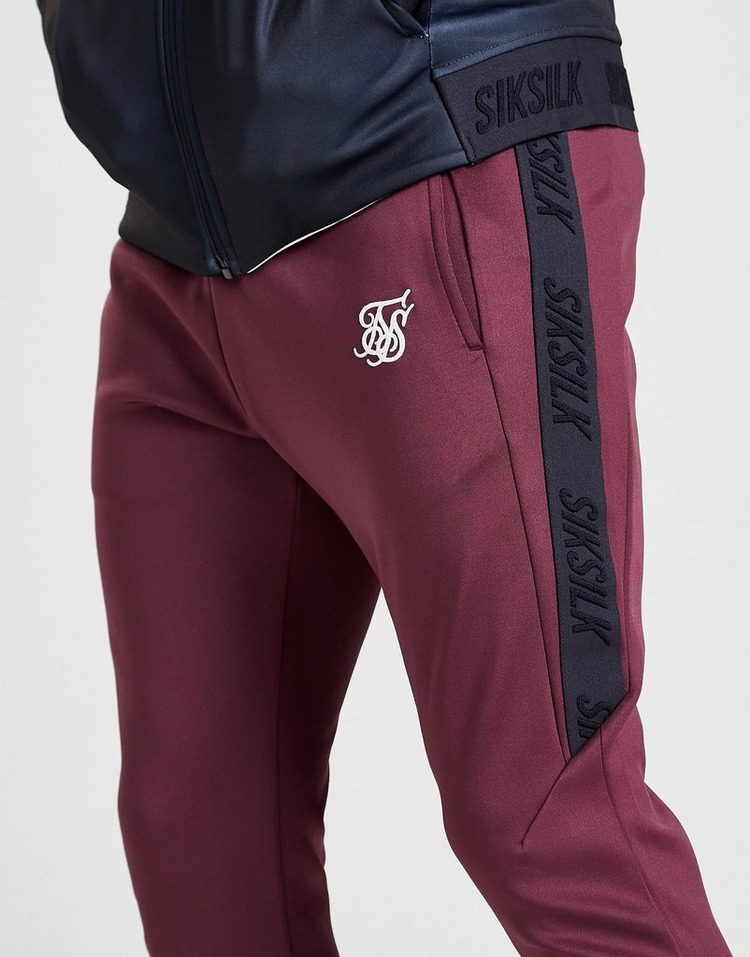 SikSilk Tape Athlete Poly Track Pants