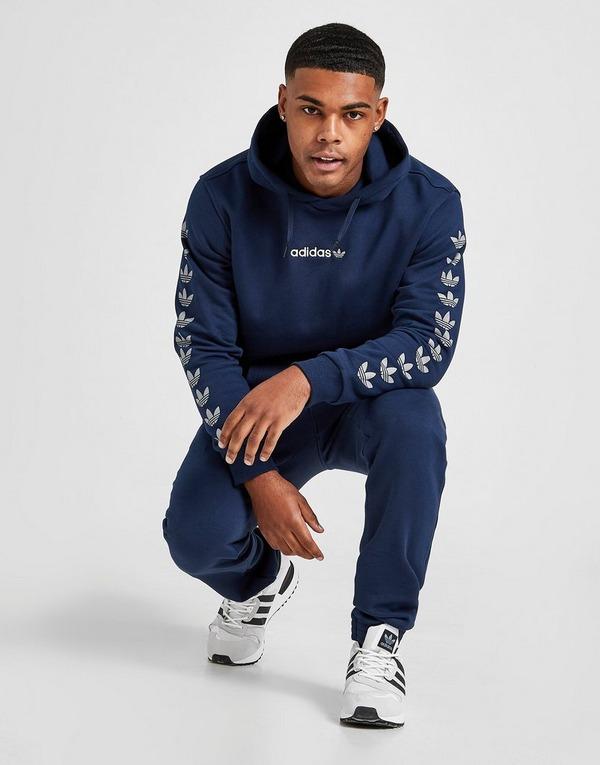 permanecer conocido Preservativo  Blue adidas Originals Repeat Trefoil Hoodie | JD Sports