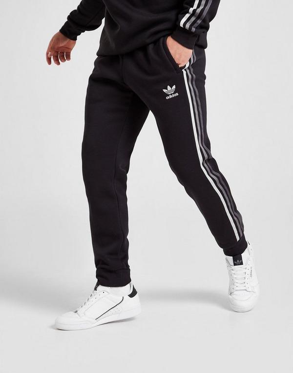 Acheter Noir adidas Originals Jogging Tri-Tone 3-Stripes Fleece Homme