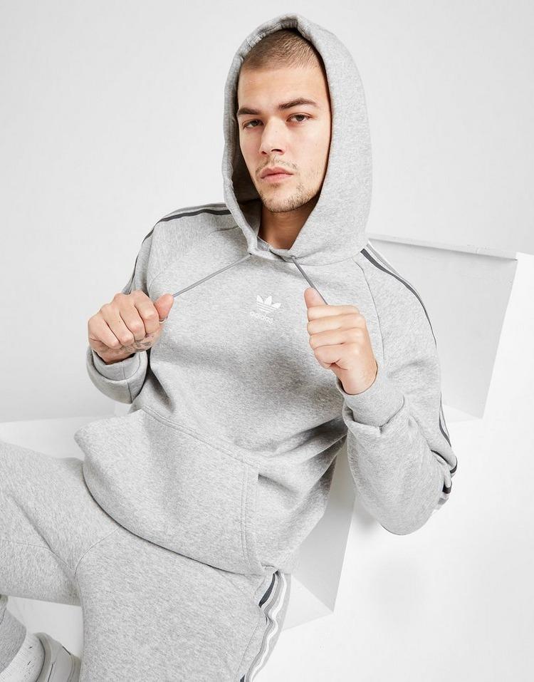 adidas Originals Tri-Tone 3-Stripes Overhead Hoodie