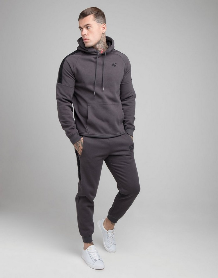SikSilk Tape Overhead Fleece Hoodie