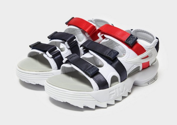 Shoppa Fila Disruptor Sandal Women's i en Vit färg | JD