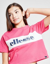 Ellesse Girls' Lilo Crop Colour Block T-Shirt Junior