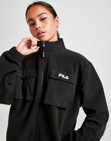 Fila Woven Panel Sherpa Jacket