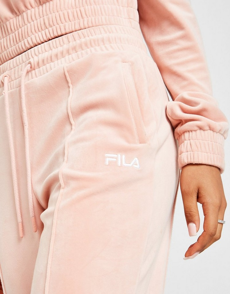 Fila Velour Pin Tuck Track Pants