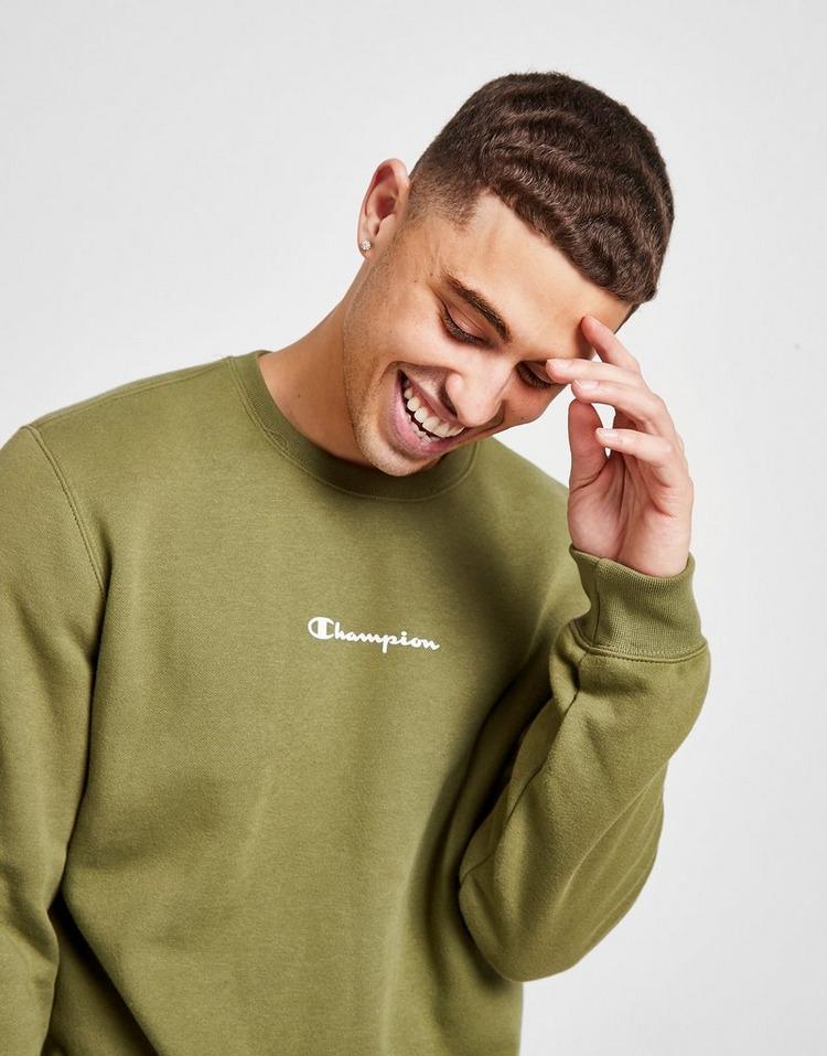 Champion Script Logo Crew Sweatshirt