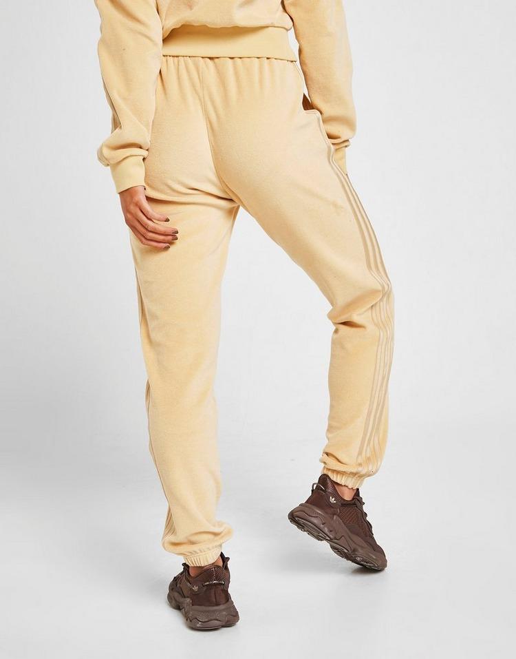 adidas Originals 3-Stripes Velour Slim Joggers