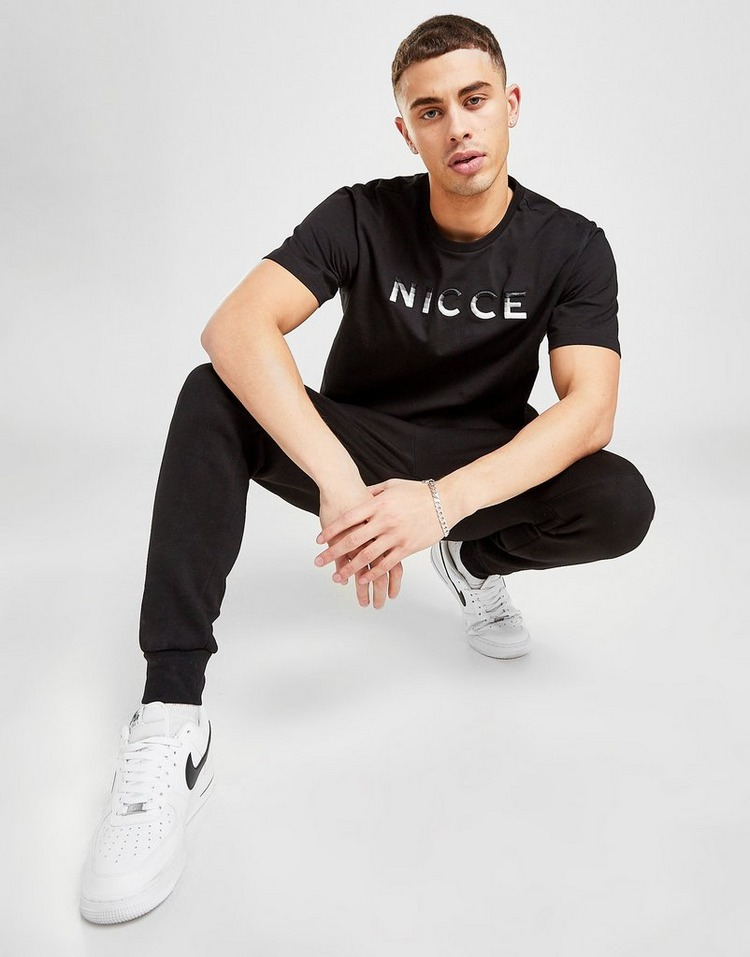 Nicce Vina Fade Logo T-Shirt