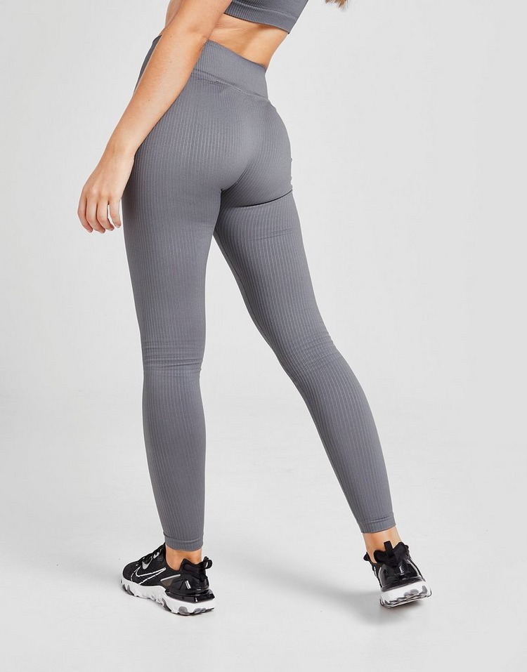 Gym King Seamless Ribbed Tights