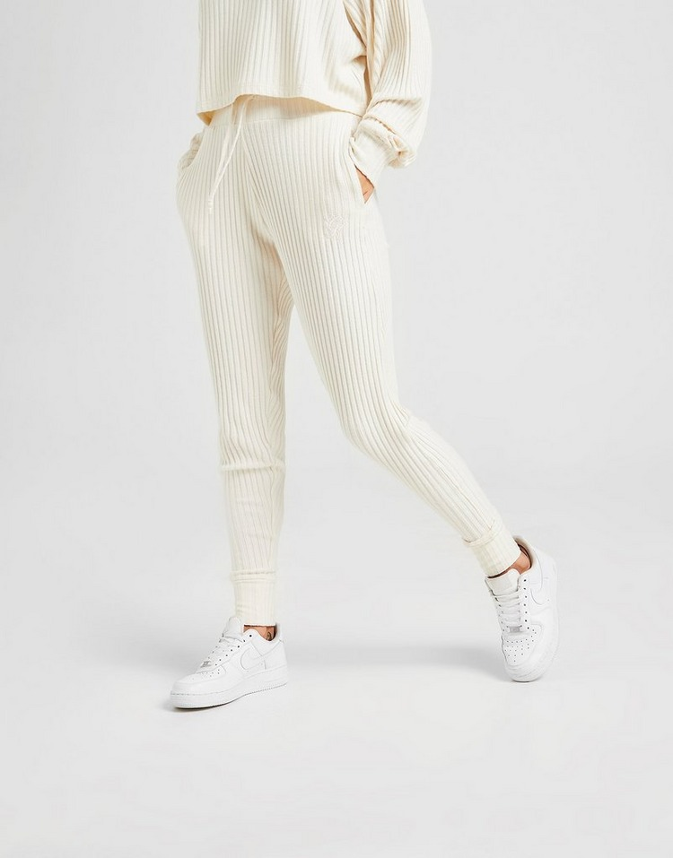 Gym King Ribbed Knit Pantaloni della tuta Donna