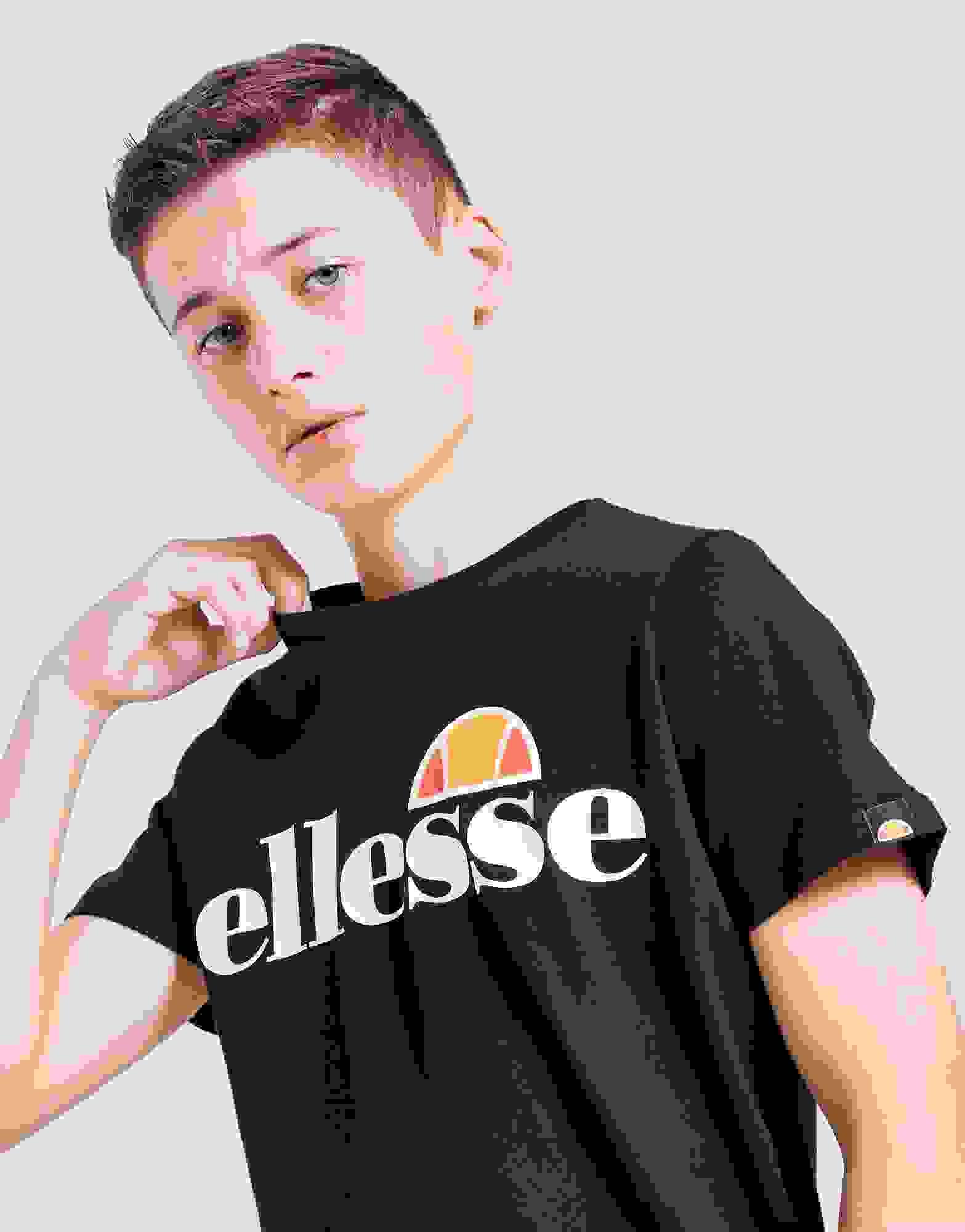 ellesse Kinder T-Shirt Malia black