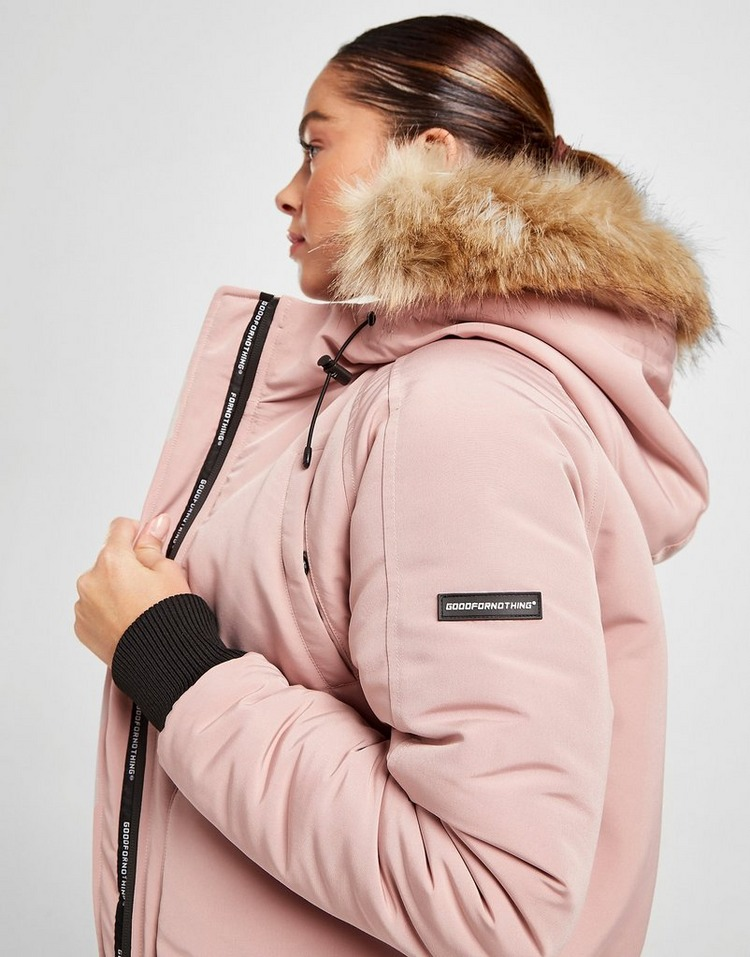 Good For Nothing Fortitude Fur Hooded Jacket