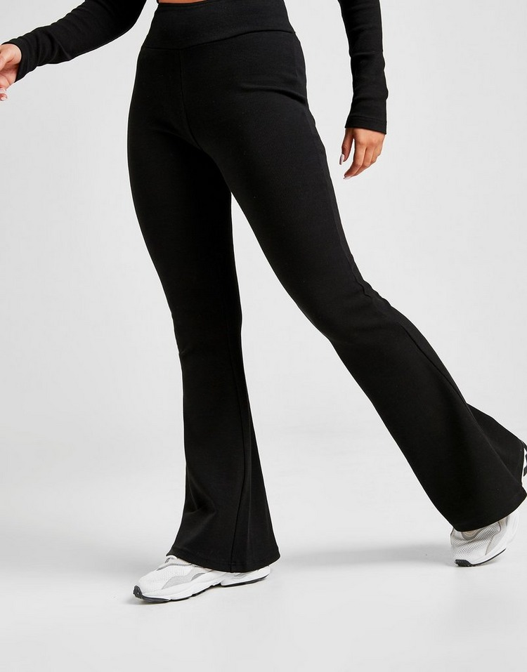 Supply & Demand Contrast Ribbed Flares