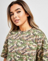 Supply & Demand Graphic Back Camo Longline T-Shirt
