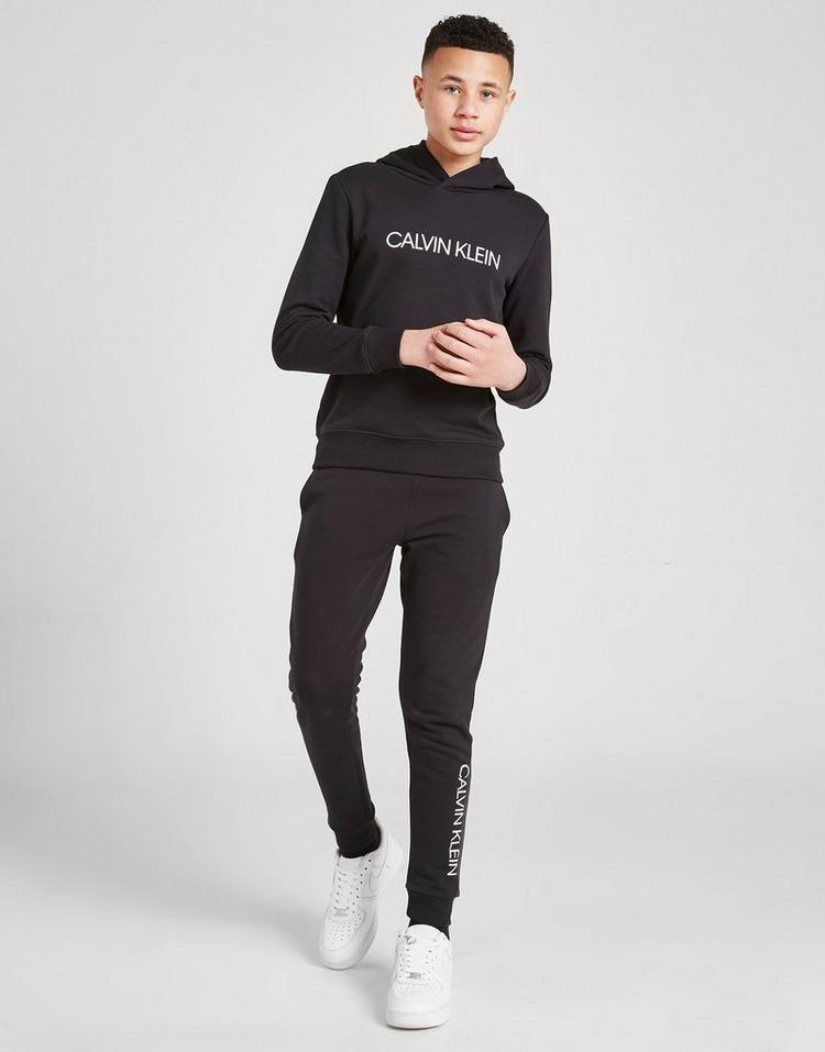 Calvin Klein Girls' Institutional Logo Felpa con cappuccio Junior
