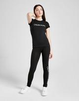 Calvin Klein Girls' Institutional Logo Slim T-Shirt Junior