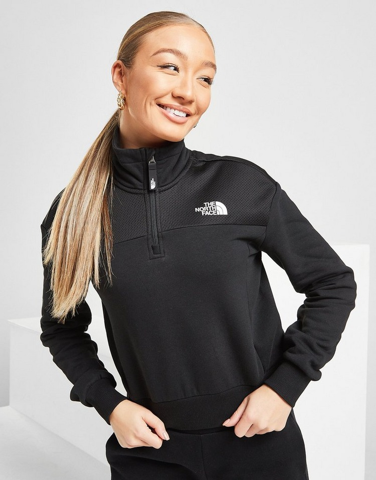 The North Face Mesh 1/4 Zip Sweatshirt