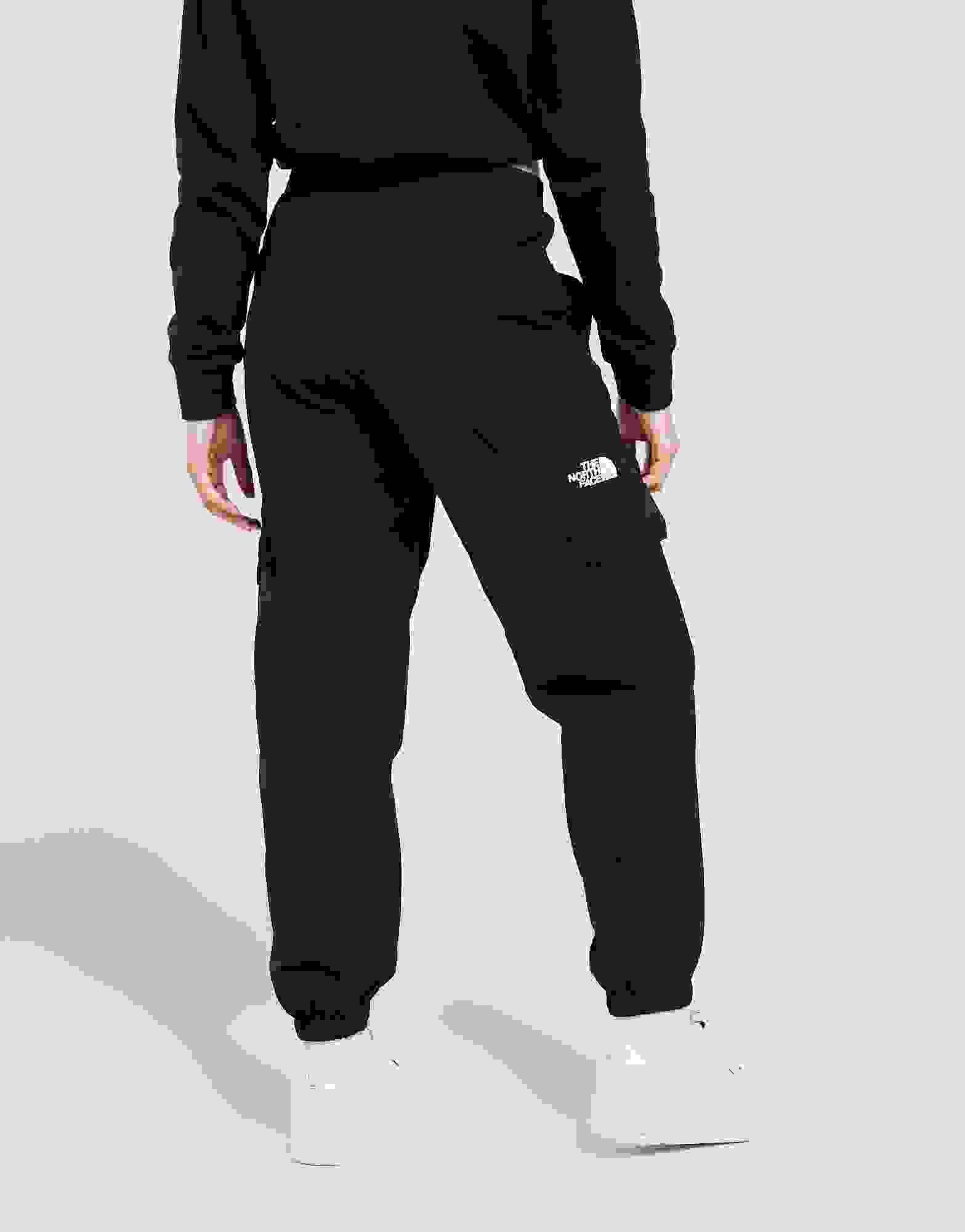 Débardeur Femmes Taille Élastique Cargo Poches Latérales à revers Pantalon De Jogging Pantalon