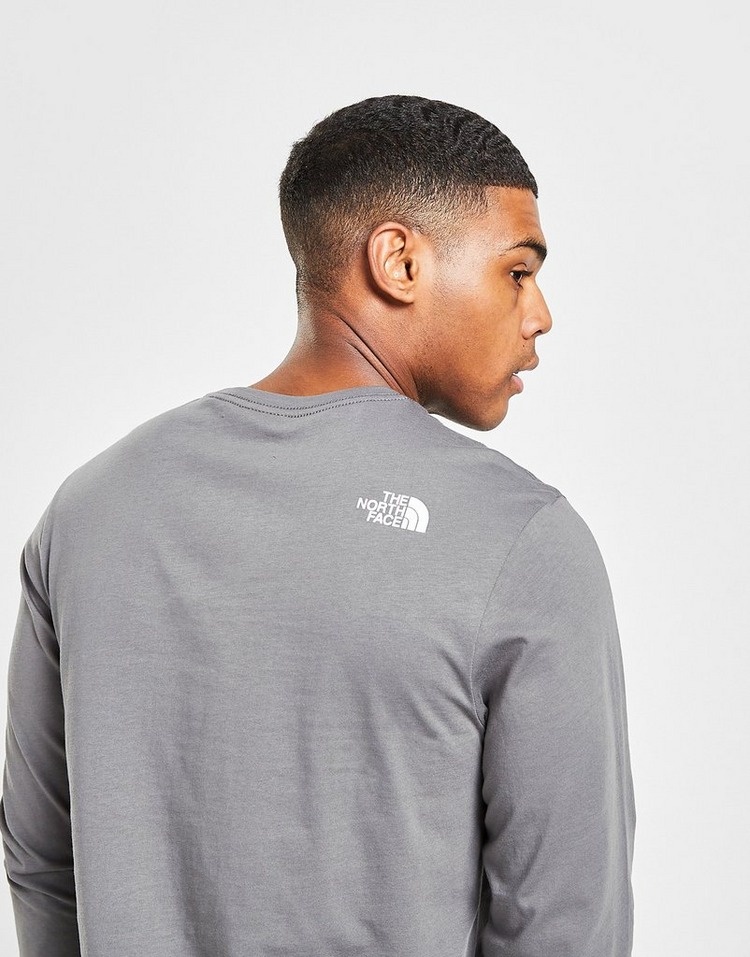 The North Face Long Sleeve Repeat Logo T-Shirt