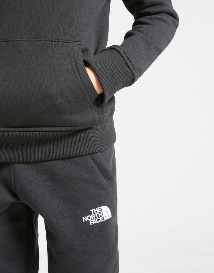 The North Face Logo Fleece Hoodie Junior