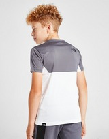 The North Face Colour Block Poly T-Shirt Junior