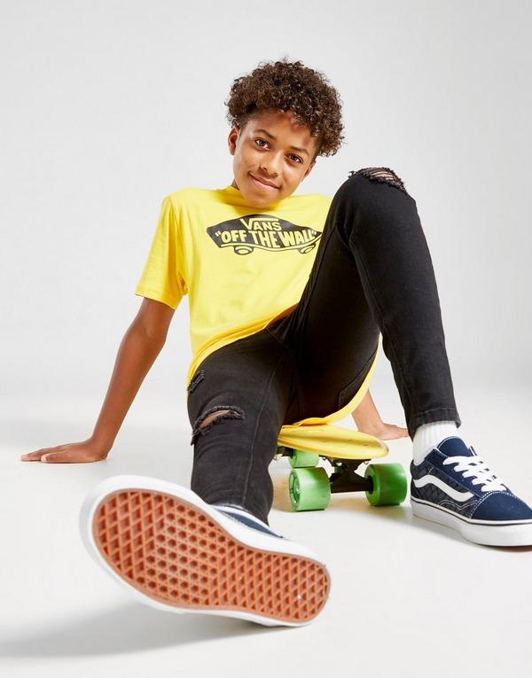 t shirt skate enfant vans