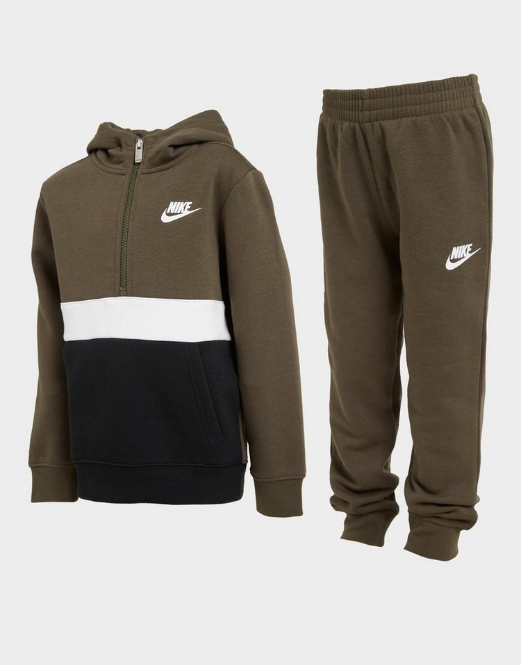 Nike Club 1/2 Zip Tracksuit Children