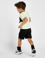 Nike Sportswear Colour Block T-Shirt/Shorts Set Infant