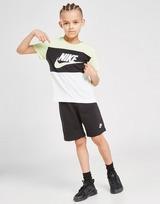 Nike Colour Block T-Shirt/Shorts Set Children
