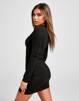 Sixth June Cut Out Long Sleeve Dress