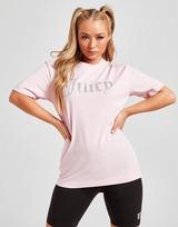 JUICY COUTURE Diamante Logo Boyfriend T-Shirt