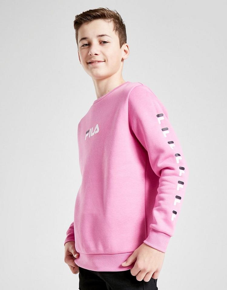 Fila Sebastian Repeat Fleece Crew Sweatshirt Junior