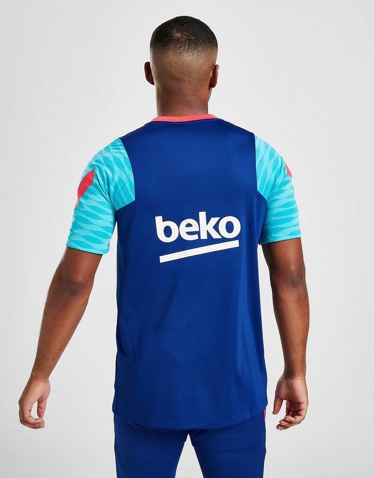 Nike Haut de football à manches courtes FC Barcelona Strike pour Homme