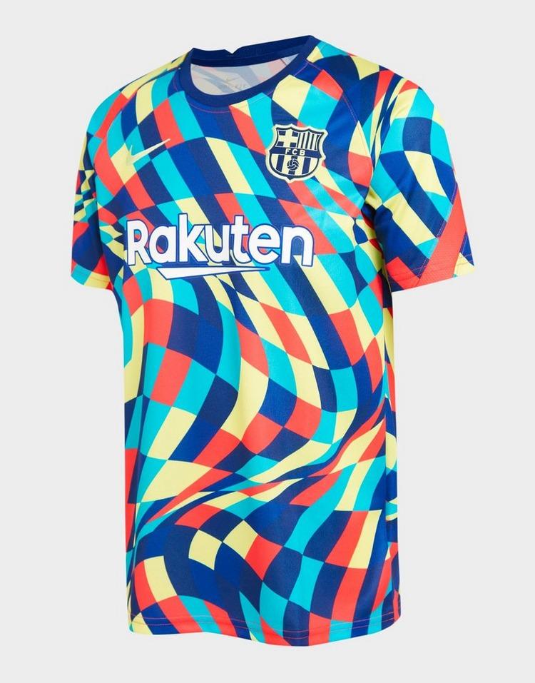 Nike FC Barcelona Pre Match Shirt Junior