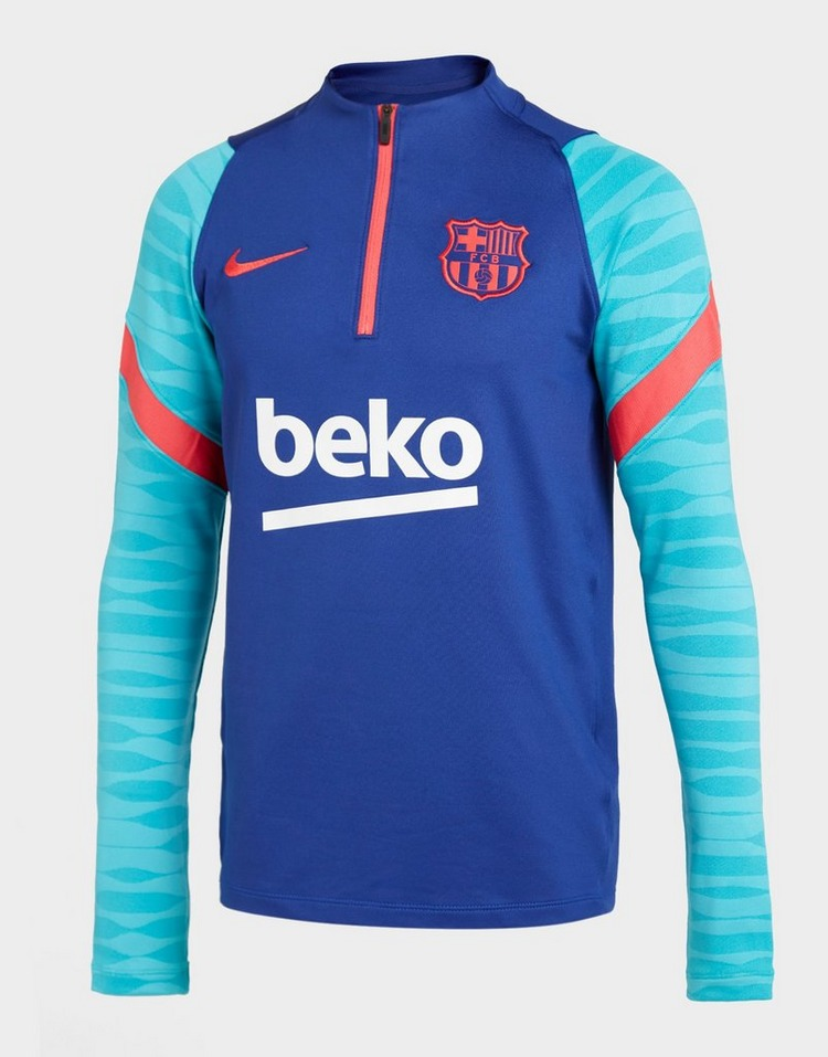 Nike FC Barcelona Strike Drill Top Junior