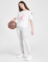 Jordan Girls' Air Short Sleeve Graphic T-Shirt Junior