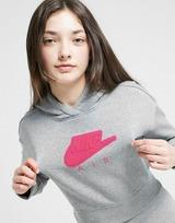 Nike Girls' Air French Terry Crop Hoodie Junior