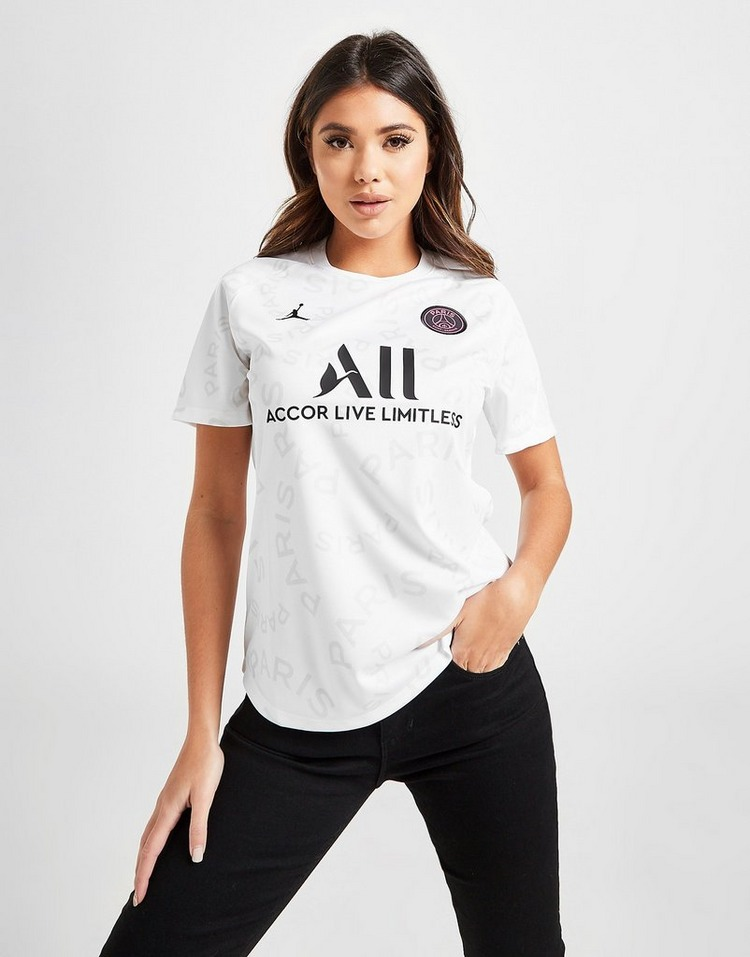 Jordan Paris Saint Germain Pre Match Shirt