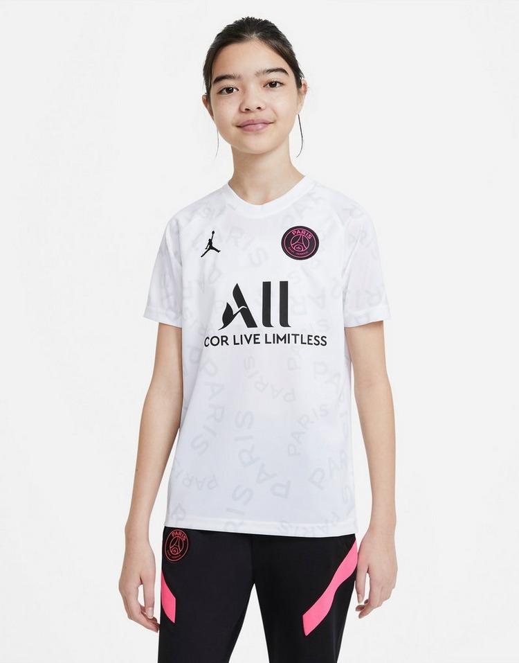 Jordan Paris Saint Germain Pre Match Shirt Junior