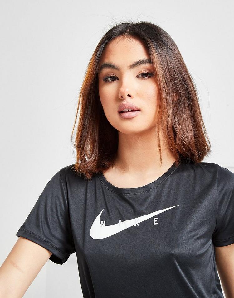Nike Haut de running à manches courtes Nike Swoosh Run pour Femme