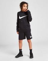Nike Swoosh Pullover All Over Print Hoodie Junior