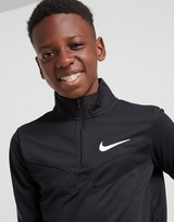 Nike Poly 1/4 Zip Track Top Junior