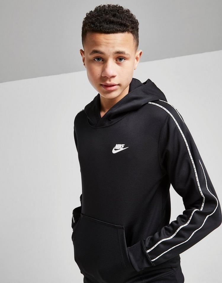 Nike Tape Poly Overhead Hoodie Junior