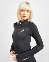 Nike Ribbed Long Sleeve Top