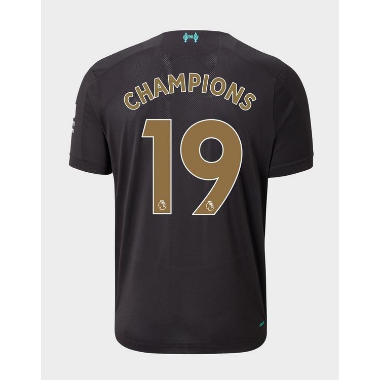 New Balance Liverpool FC 19/20 Third Champions Shirt #19