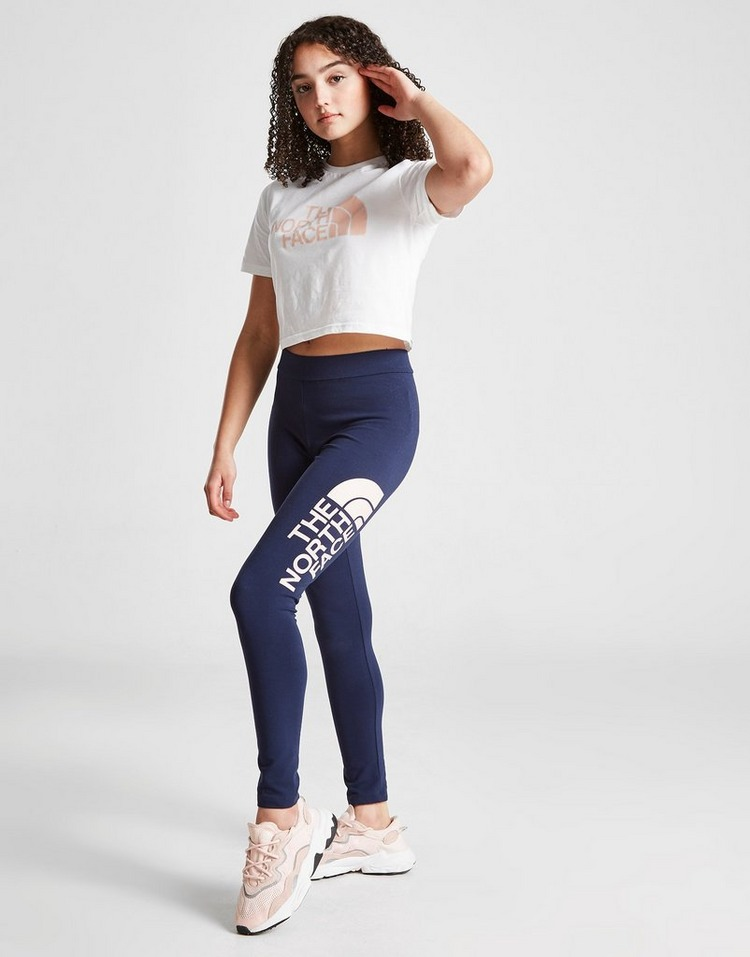 The North Face Girls' Easy Cropped T-Shirt Junior
