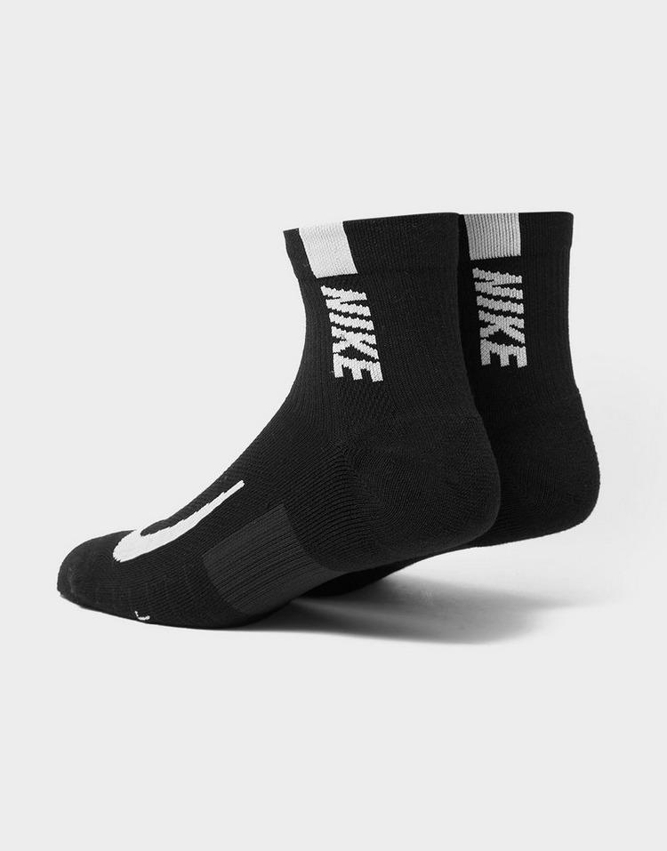 Nike Multiplier Running Ankle 2 Pack Socks