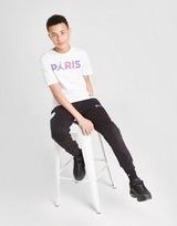 Jordan x Paris Saint Germain Black Cat Fleece Joggers Jnr