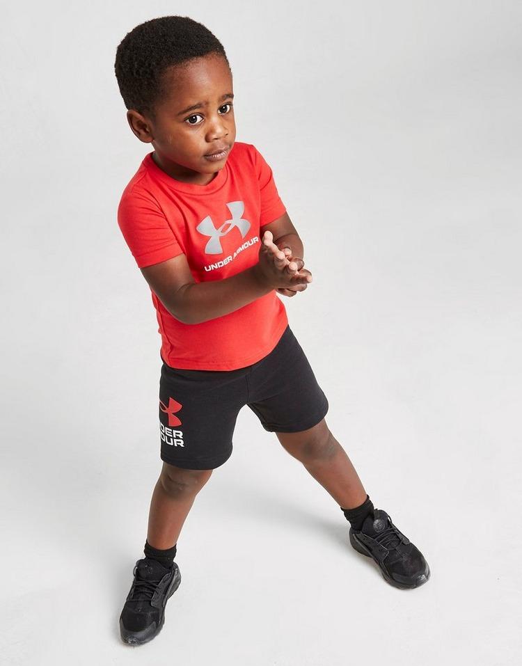 Under Armour Wordmark T-Shirt/Shorts Set Infant
