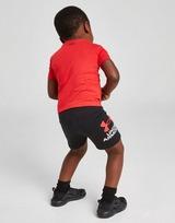 Under Armour Wordmark T-Shirt & Shorts Completo Neonato